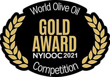 New York International Olive Oil Competition Gold Award 2021