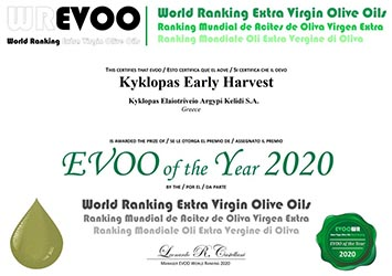 EVOO of the Year 2020 Kyklopas
