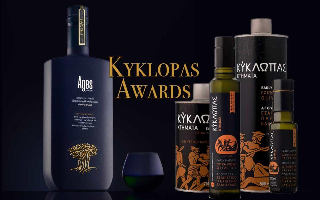 Olive Japan 2020 Silver Award for Kyklopas!